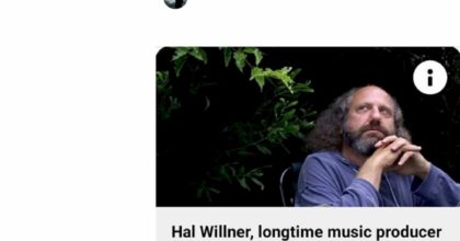 hal willner morto