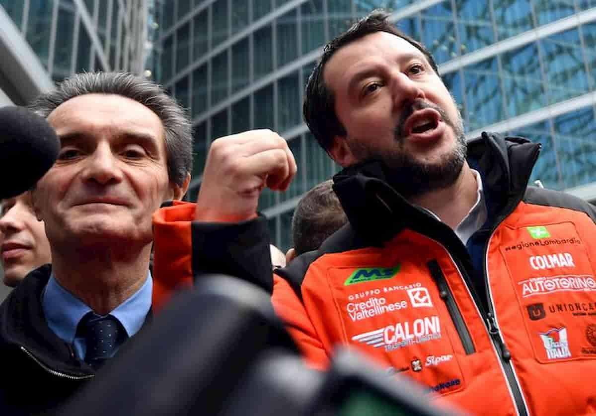 Coronavirus rapporto segreto: il pretesto querulo dei Fontalega (Fontana e Salvini)