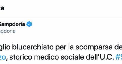 Andrea Chiapuzzo è morto, è stato lo storico medico sociale della Sampdoria