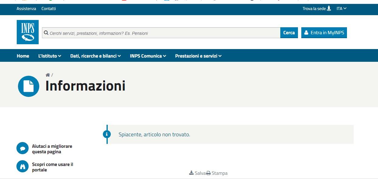 Inps, accesso contingentato ma sito ancora inaccessibile. A tutti o solo a chi non è commercialista?