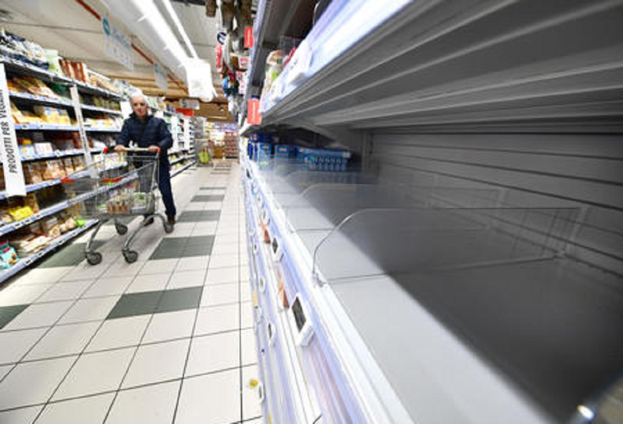Supermercato, Ansa