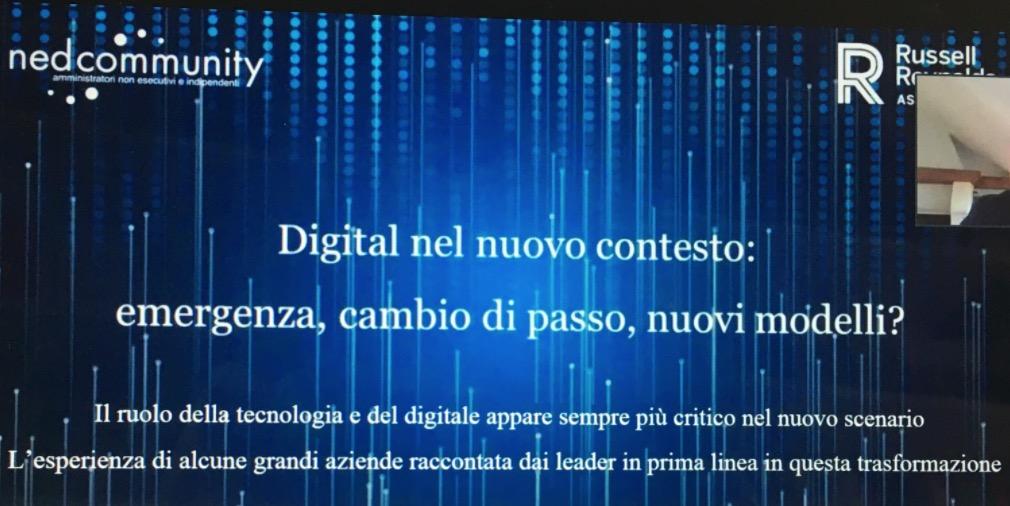 """Digital nel nuovo contesto dopo il Covid-19: """"una opportunità"""" per il mondo produttivo"""