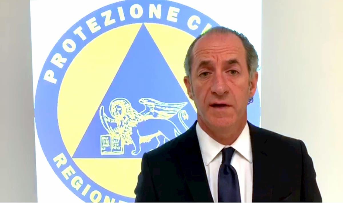 """Coronavirus, in Veneto Zaia toglie il limite dei 200 metri per l'attività motoria: """"Atto di fiducia"""""""