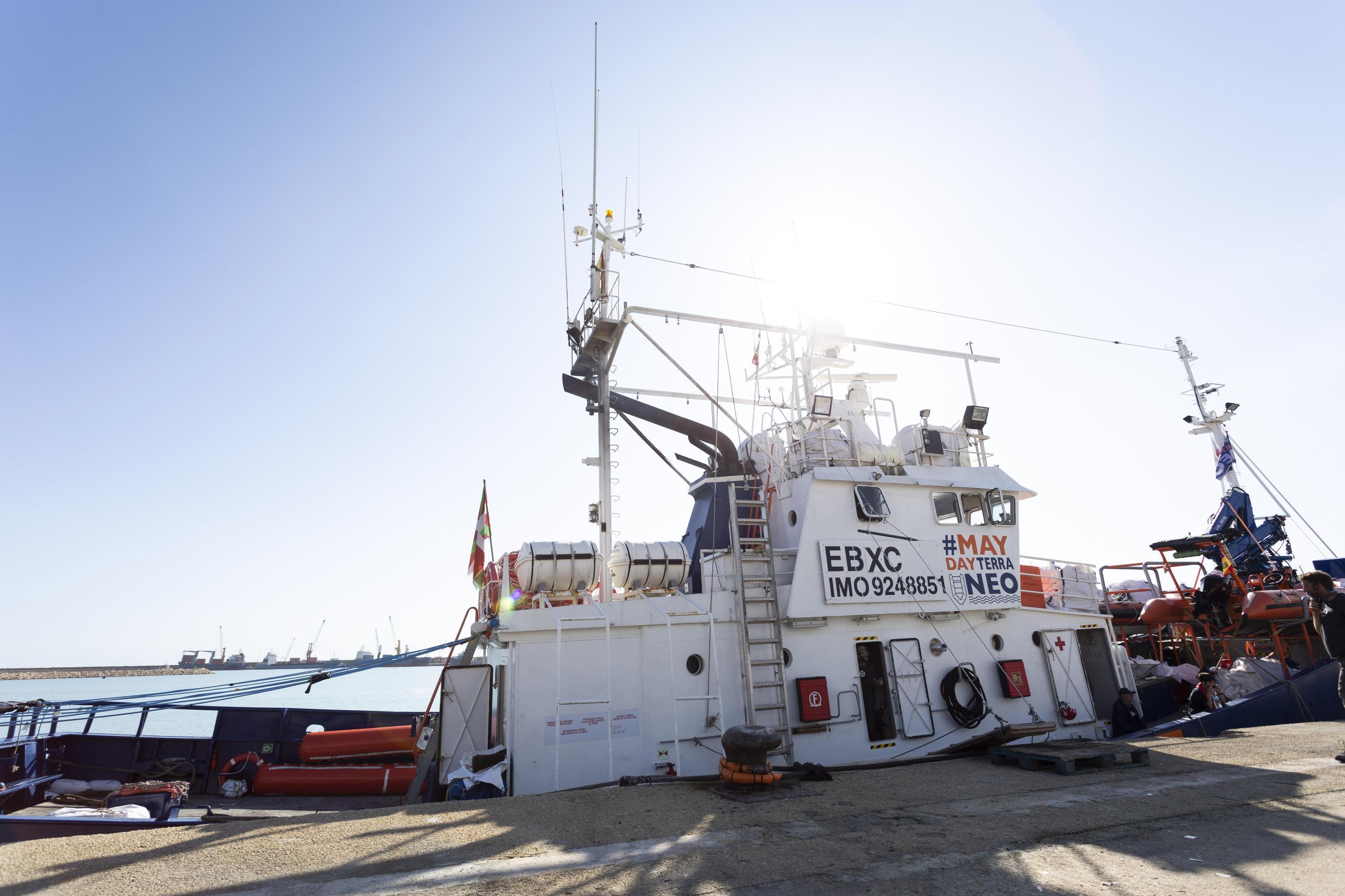 aitaAita Mari ferma a Palermo: bloccata la nave che soccorre i migranti