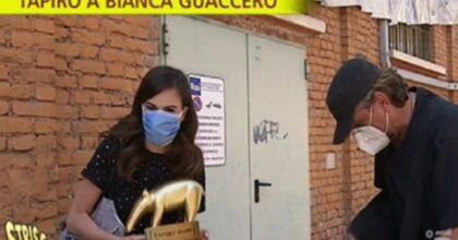 Bianca Guaccero, Striscia