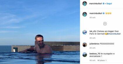 Marcin Bułka del Psg ha distrutto la sua Lamborghini in un incidente d'auto