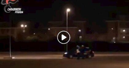 Rodi Garganico (Foggia), comandante carabinieri investito da ladro in scooter VIDEO