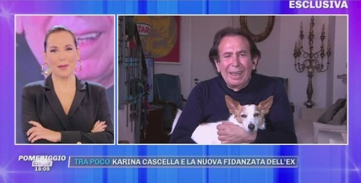 """Giucas Casella in lacrime a Pomeriggio 5: """"Mio figlio mi lasciava il cibo in garage..."""""""