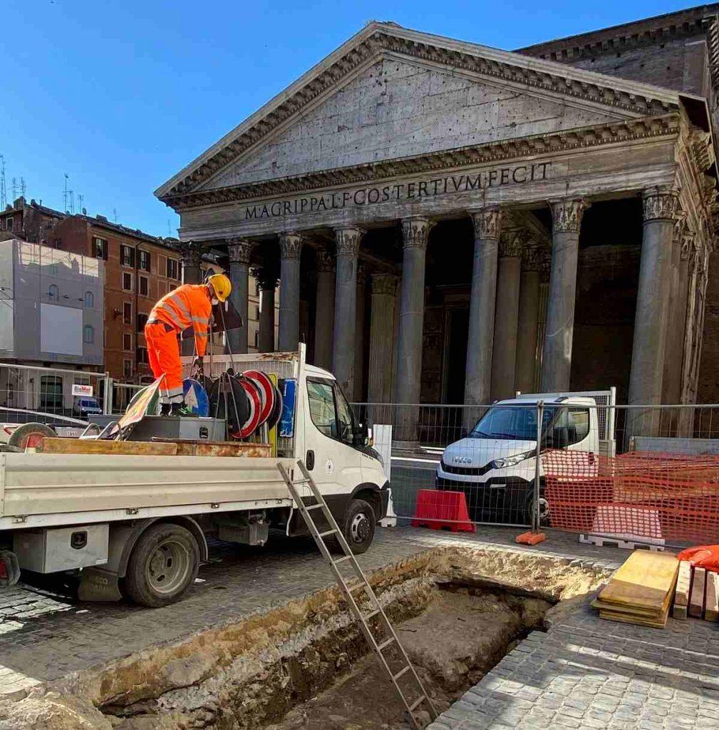 pantheon pavimentazione imperiale