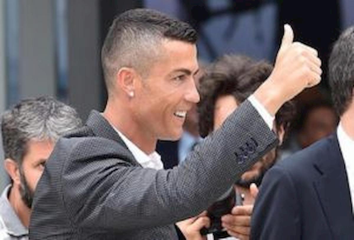 Juventus richiama i calciatori all'estero ma Cristiano Ronaldo è senza aereo