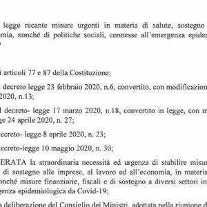 Decreto Rilancio in Gazzetta ufficiale: il testo integrale PDF