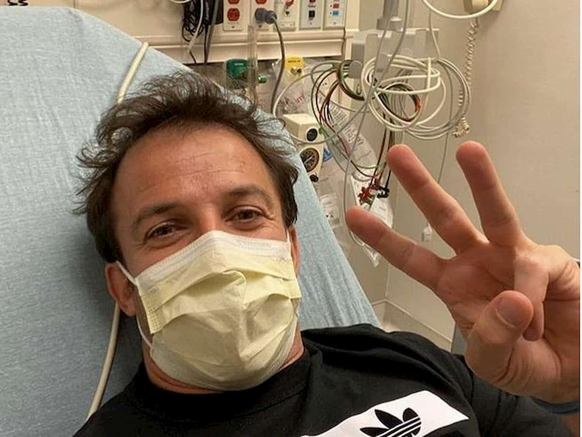 """Alessandro Del Piero torna a casa dopo il ricovero: """"Sto bene"""""""