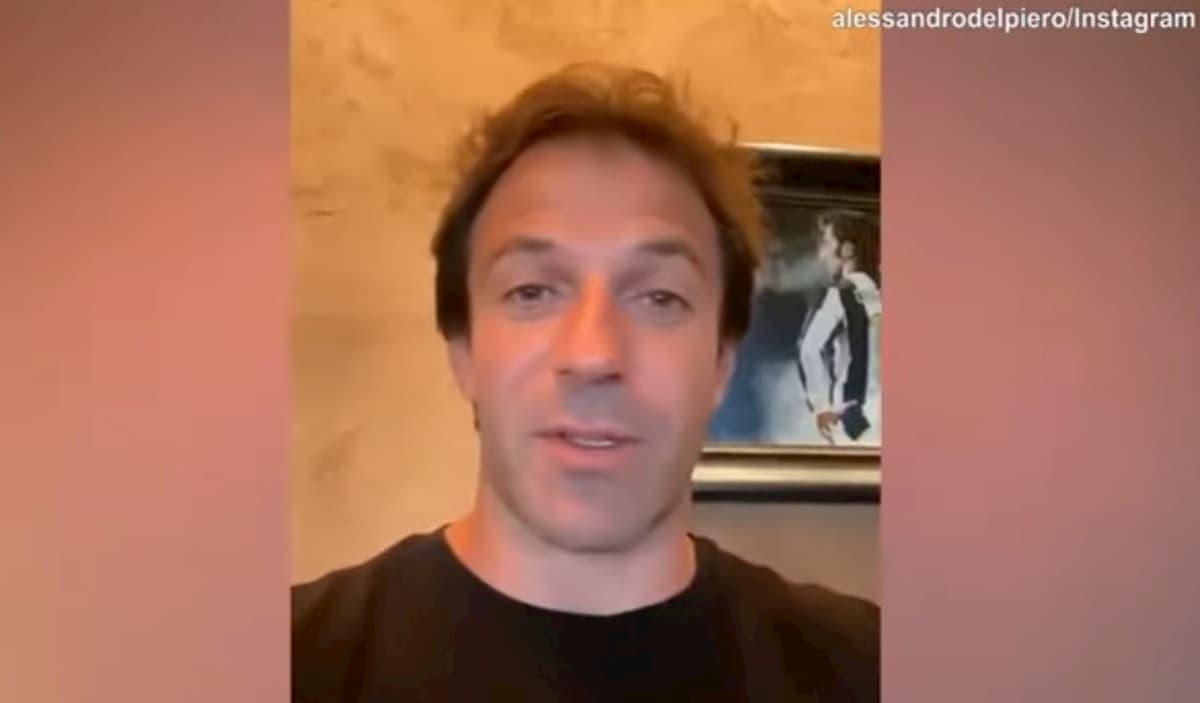 """Alessandro Del Piero e i calcoli renali: """"La mia acqua della salute non c'è negli Usa..."""""""