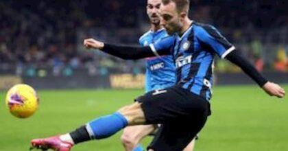 Un allenamento con Eriksen, l'iniziativa benefica del calciatore dell'Inter