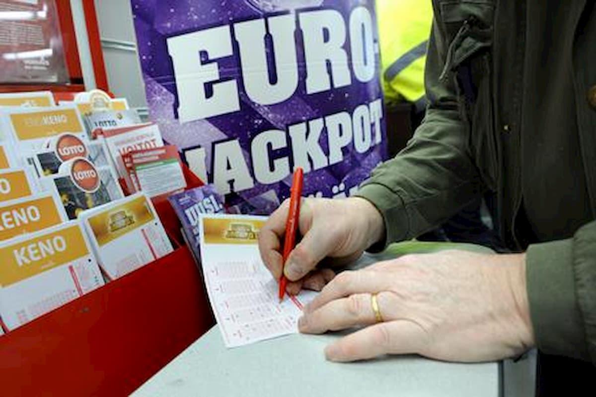 Eurojackpot, a Rionero in Vulture vinti 33 milioni di euro