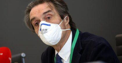 """Attilio Fontana sotto scorta dopo le minacce web e i murales con scritto """"assassino"""""""