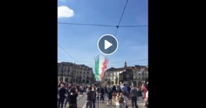 frecce tricolori video vista