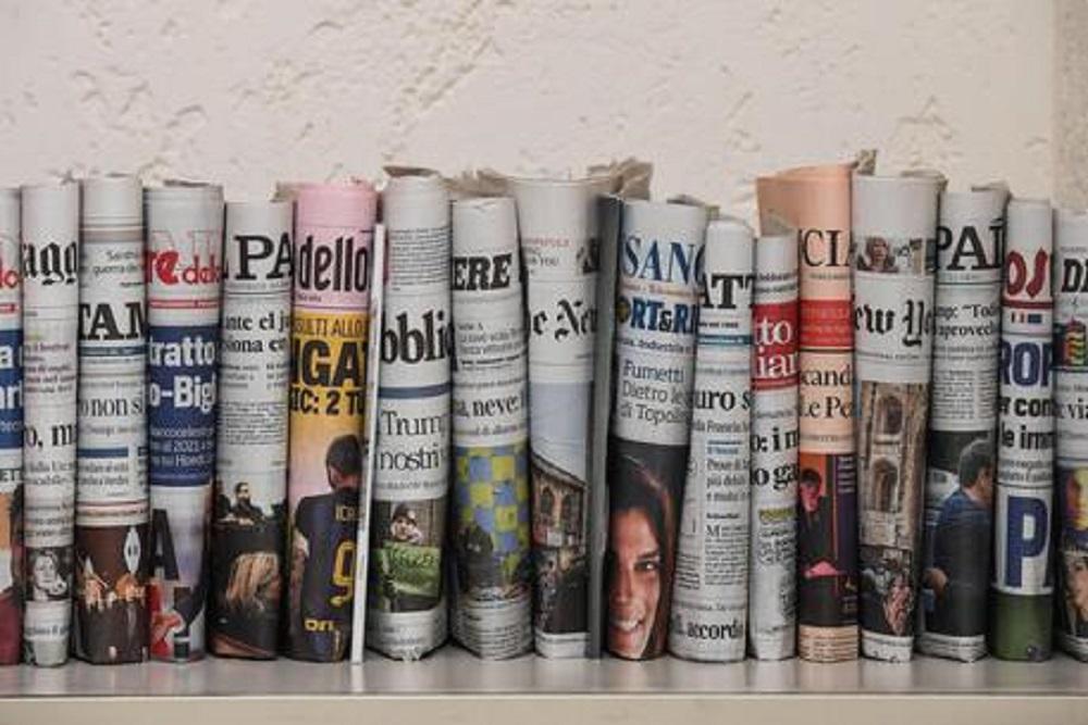 Vendite giornali marzo 2020: exploit dei giornali locali