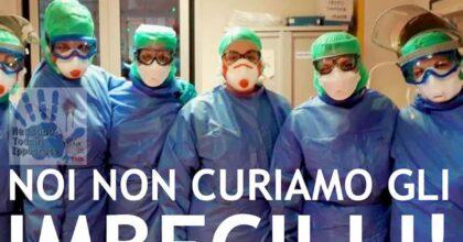 """Coronavirus e movida, il post su Fb dei medici rianimatori: """"Non curiamo i cretini"""""""