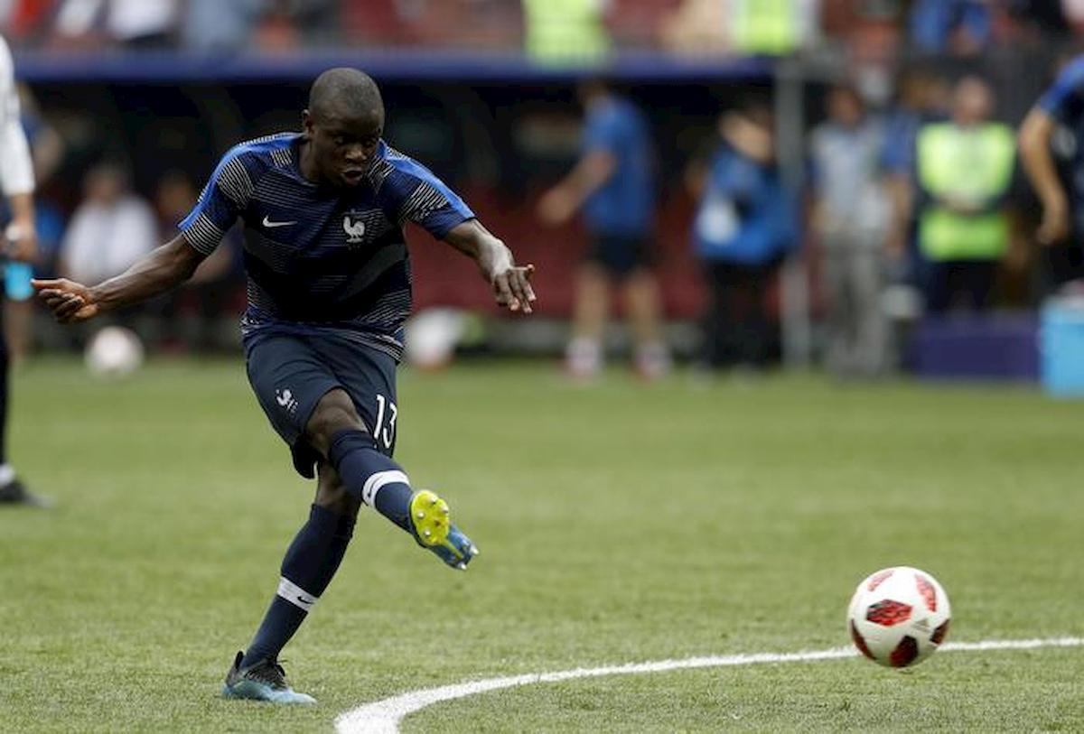 N'Golo Kanté non si allena con il Chelsea, ha paura del coronavirus