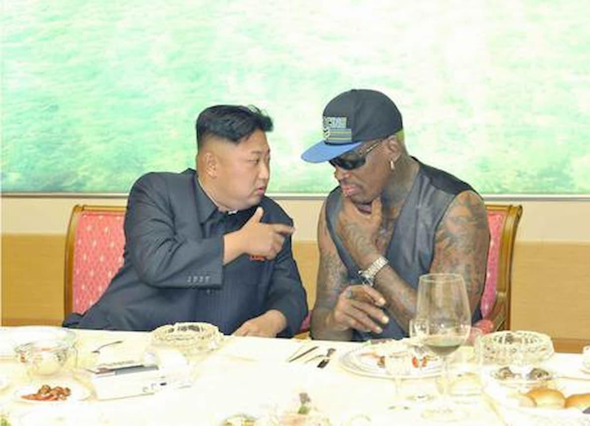 """Dennis Rodman: """"La sera che ho conosciuto Kim Jong-un ci siamo ubriacati"""""""