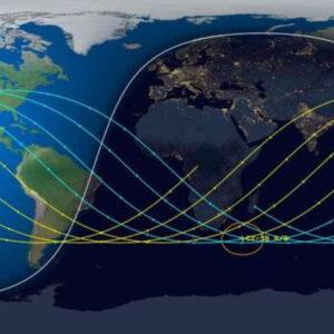 Lunga Marcia 5B, rientro incontrollato nell'Atlantico per il razzo cinese