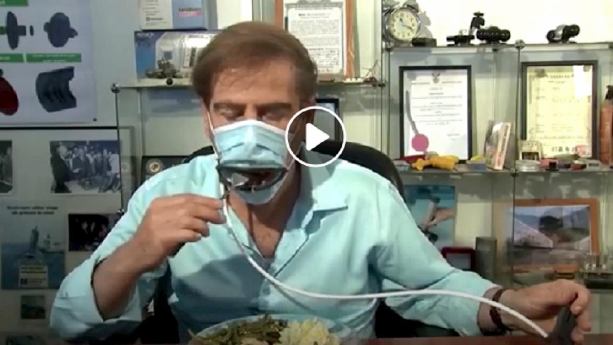 mascherina ristorante
