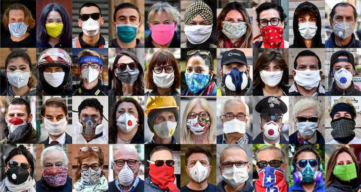 """Coronavirus, Brusaferro (Iss): """"Vanno bene anche mascherine fai da te, purché multistrato"""""""