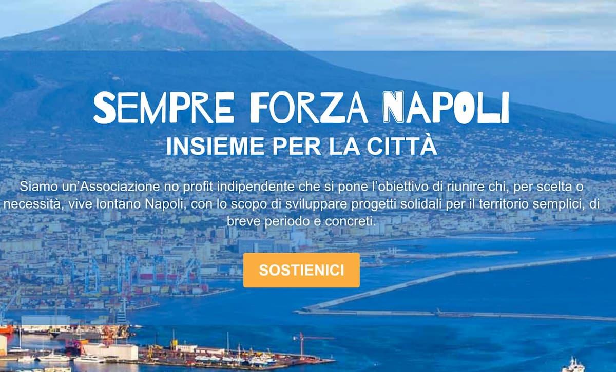 Crisi per Covid-19, il crowdfunding solidale della Associazione Sempre Forza Napoli