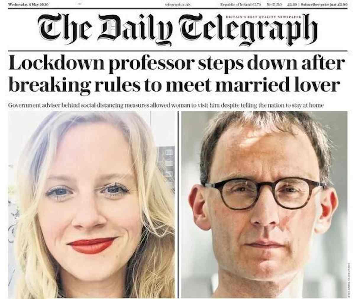 Neil Ferguson, il virologo del governo inglese si dimette: ha incontrato l'amante in lockdown