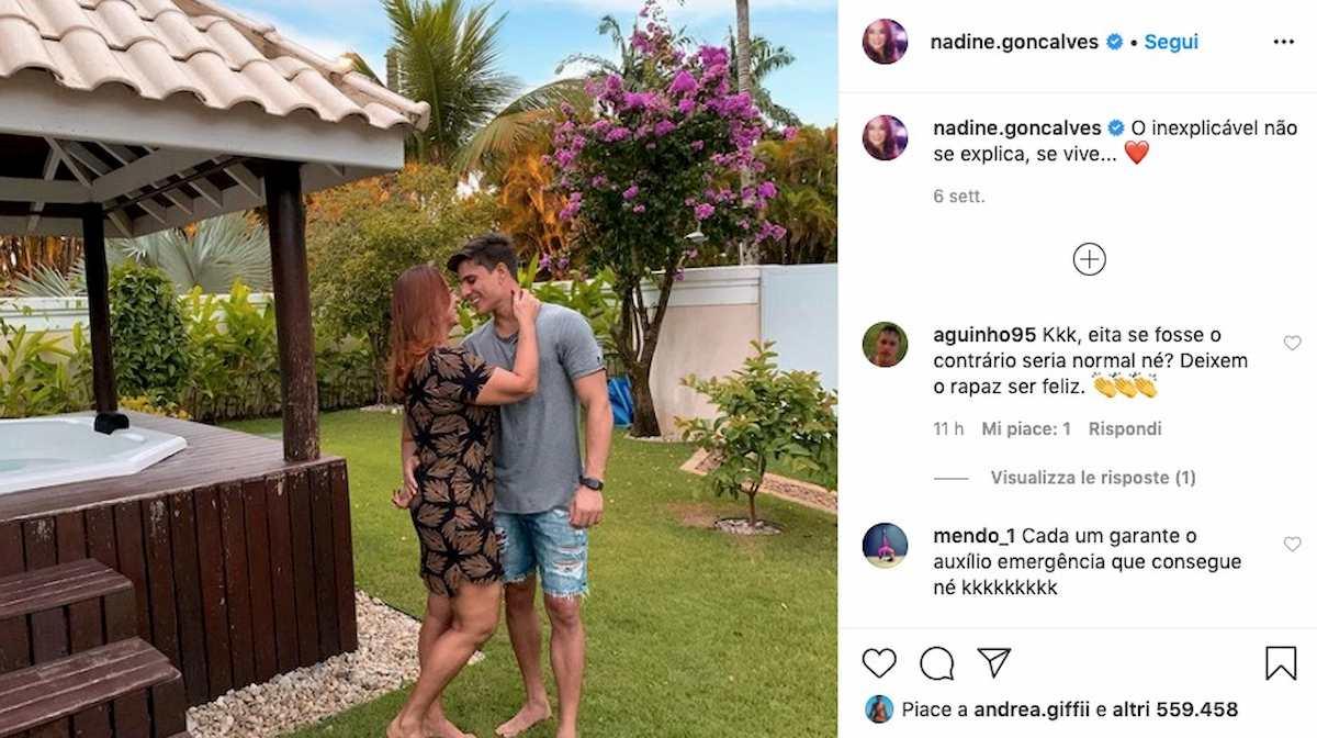"""Nadine Gonçalves, mamma di Neymar, perdona il suo """"toy boy"""" Tiago Ramos. Lo aveva lasciato per le sue scappatelle con altri uomini"""