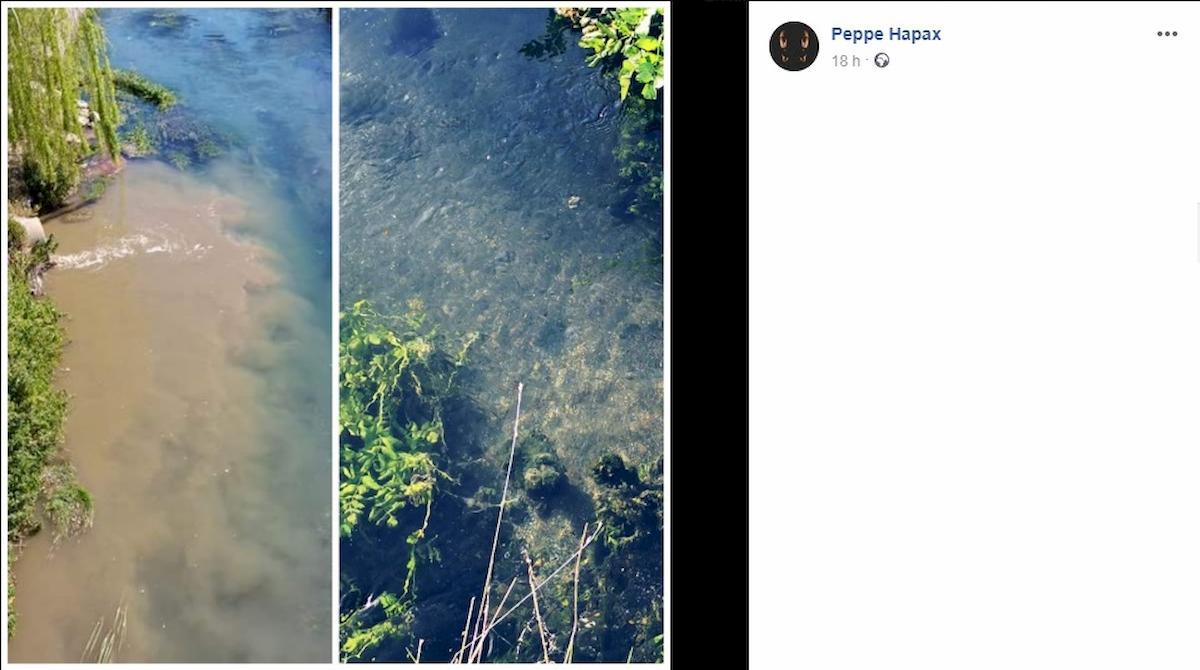 fiume sarno inquinato