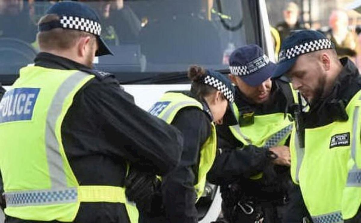 gran bretagna polizia