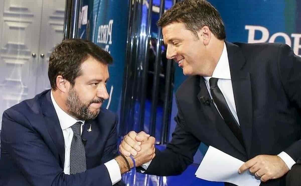 Renzi aiuta Matteo Salvini: niente processo per il caso Open Arms