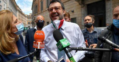 """Salvini: """"Manifestazione della Lega il 4 luglio al Circo Massimo"""""""