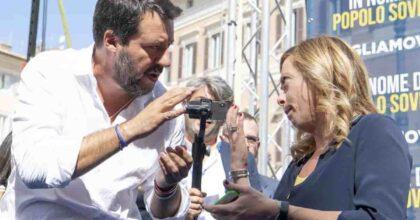 Sondaggio Pagnoncelli Ipsos: Salvini continua a perdere, Meloni tenta l'aggancio a M5s. Cala Conte