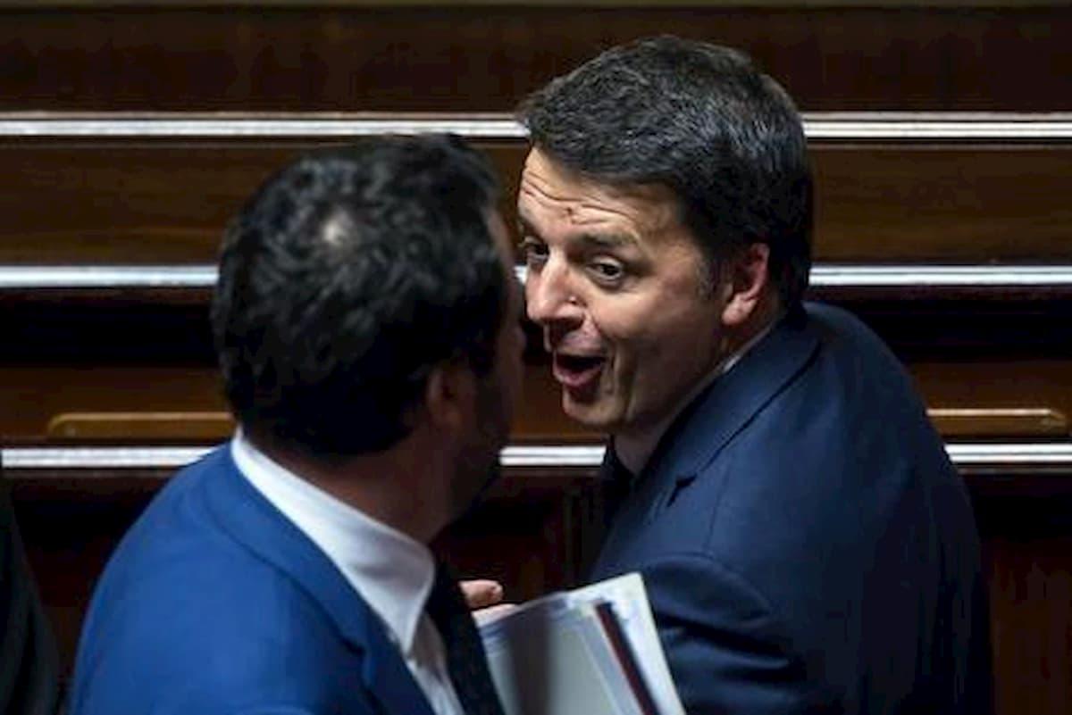 Coronavirus, Salvini e Renzi sono già in Fase 3, ma la verità si saprà quando saremo morti