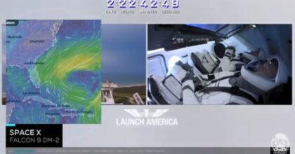 SpaceX, rinviato a sabato il lancio della Crew Dragon per maltempo
