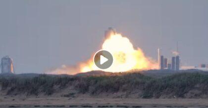 SpaceX, se il buongiorno si vede dal mattino...esplode Starship SN4, prototipo del Crew Dragon di Elon Musk