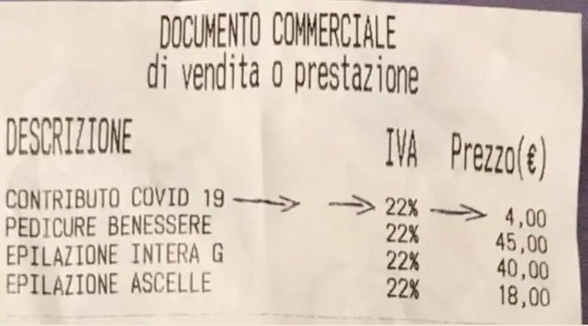 Fase 2, spunta la tassa Covid sugli scontrini: da 2 a 4 euro scaricati sul cliente per i costi di igiene