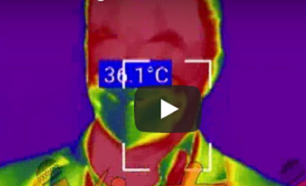termoscanner fiumicino