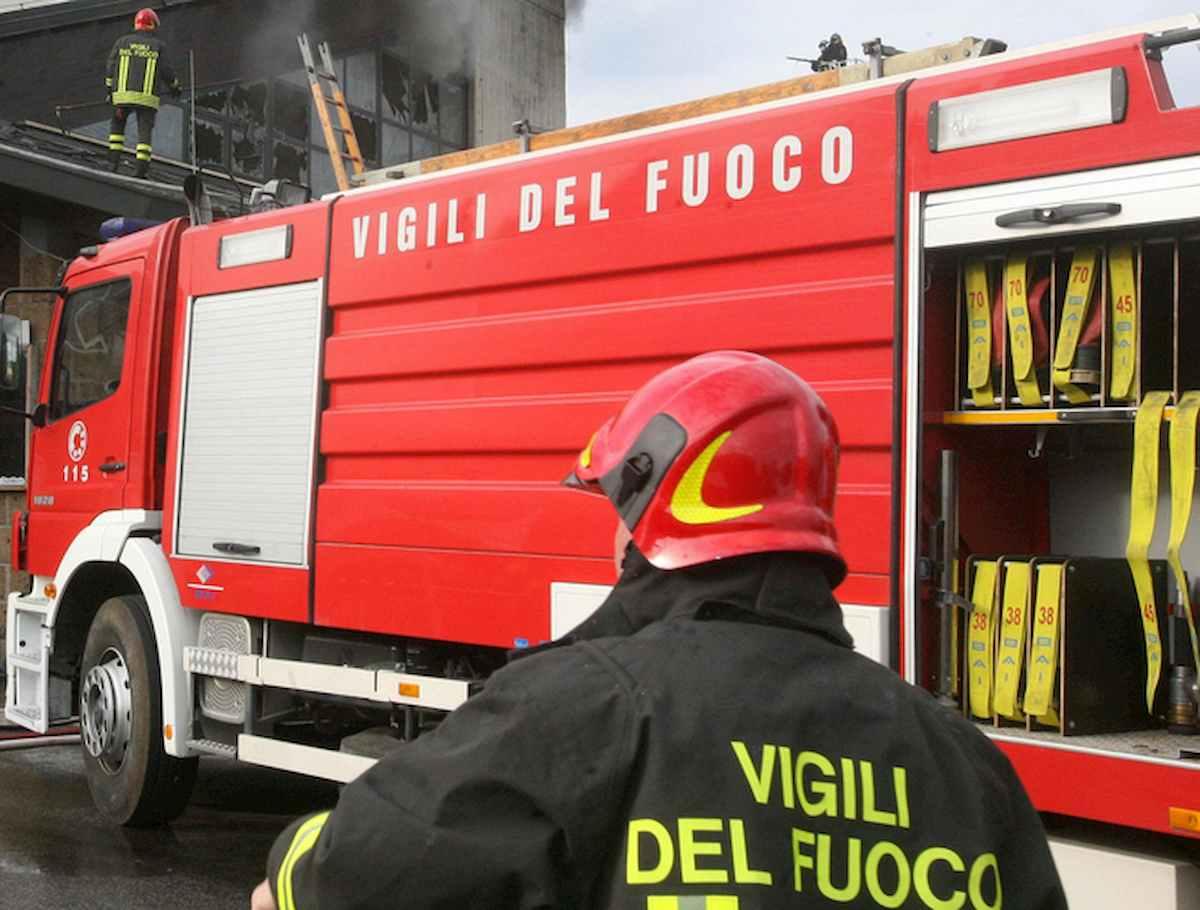 vigili del fuoco foto ansa