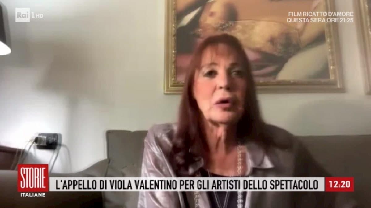 """Viola Valentino a Storie Italiane: """"Concerto con Riccardo Fogli? Dall'altra parte c'è molto egoismo..."""""""