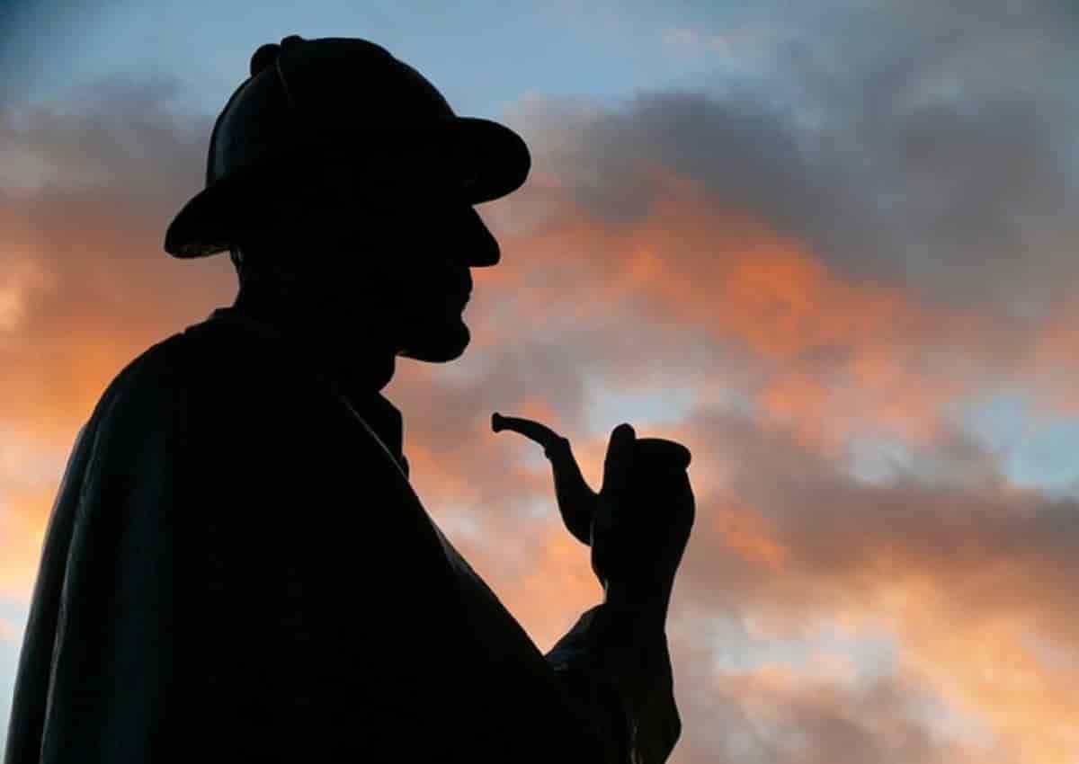 Sherlock Holmes in una foto Ansa