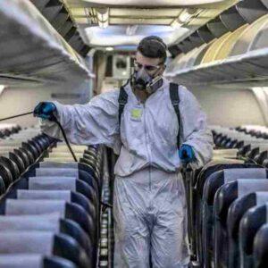 Fase 3, sì aerei a pieno carico ma con ricambio d'aria e mascherine nuove ogni 4 ore