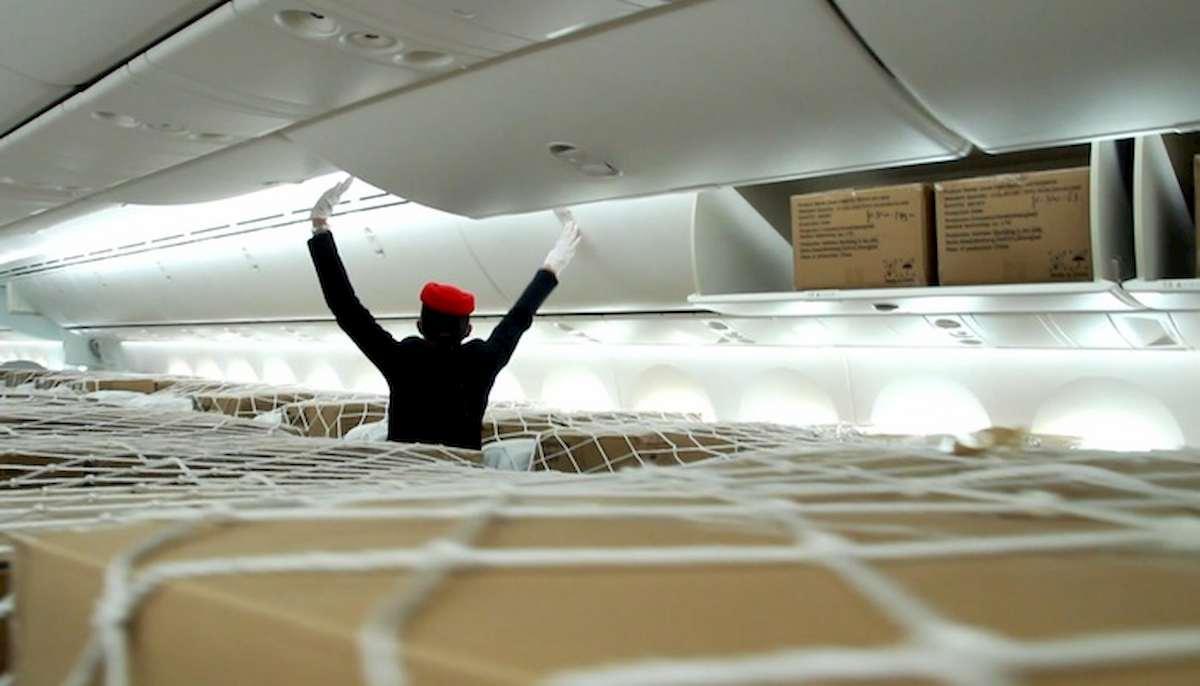 divieto dei bagagli a bordo negli aerei