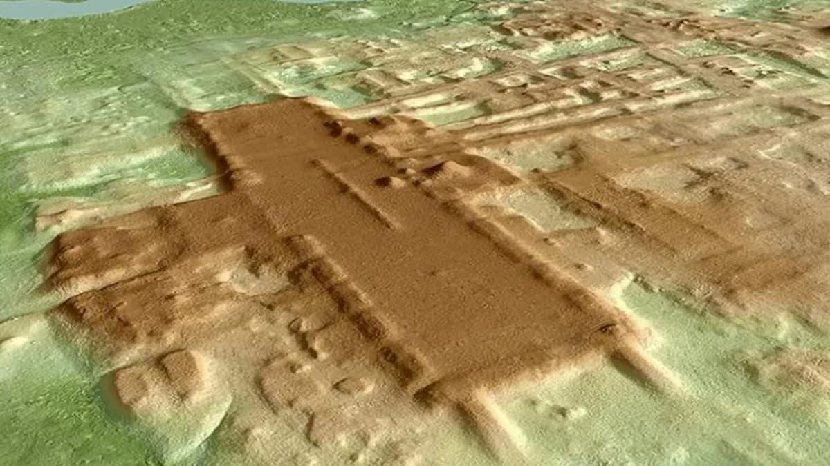 Aguada Fenix, Messico: la più antica delle monumentali strutture Maya scoperta col laser