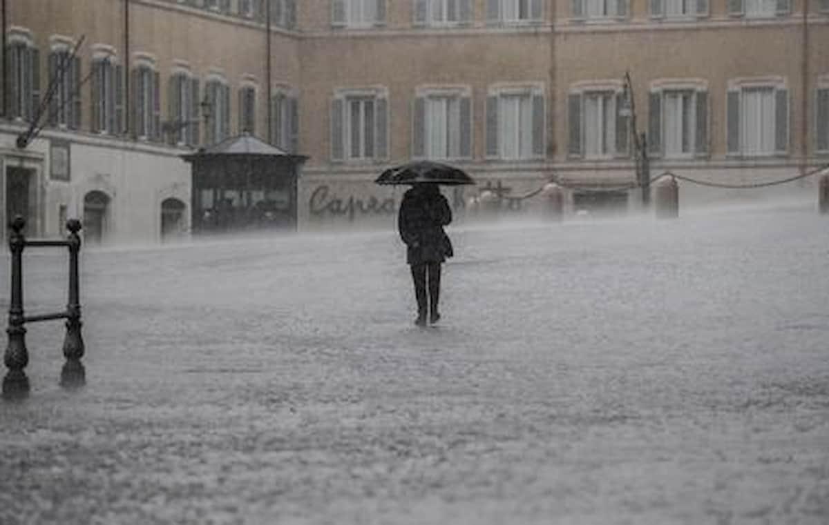 Maltempo, allerta meteo sul Lazio per le prossime 36 ore