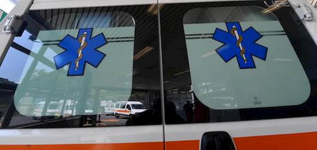 Una ambulanza del Pronto Soccorso