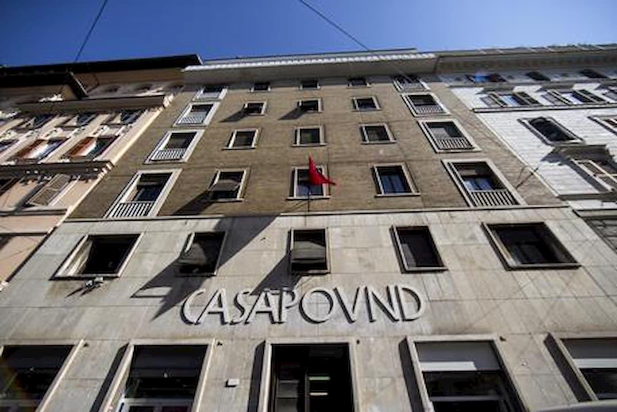 CasaPound ordinato sgombero dalla sede storica Roma